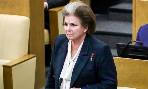 «Мы должны вас беречь». Володин потребовал от Терешковой покинуть зал заседаний Госдумы