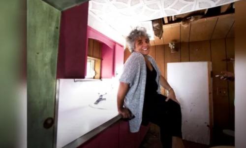 Новый дом американки оказался всего 1 метр в высоту. Внутри ее ждал ещё больший сюрприз