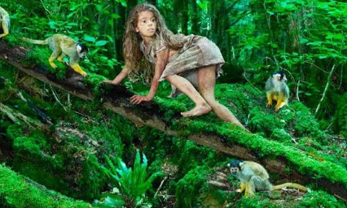 4-летнюю девочку забыли в лесу на 10 лет! Что с ней сделали обезьяны