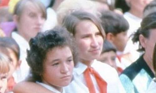 Детство СССР в редких фото: санки и купальники