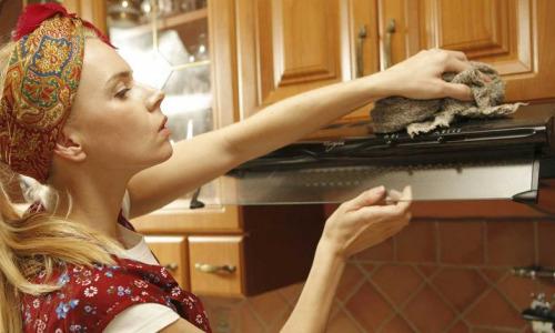 Как надолго отмыть кухонные шкафы от жира и налета: европейский способ